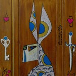 Doors Story: Key and Dagger Page (24 x 43 inch)