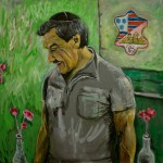 Portrait of My Uncle (24 x 24 inch)