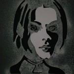 Girl with Short Hair II (9 x 12 inch)